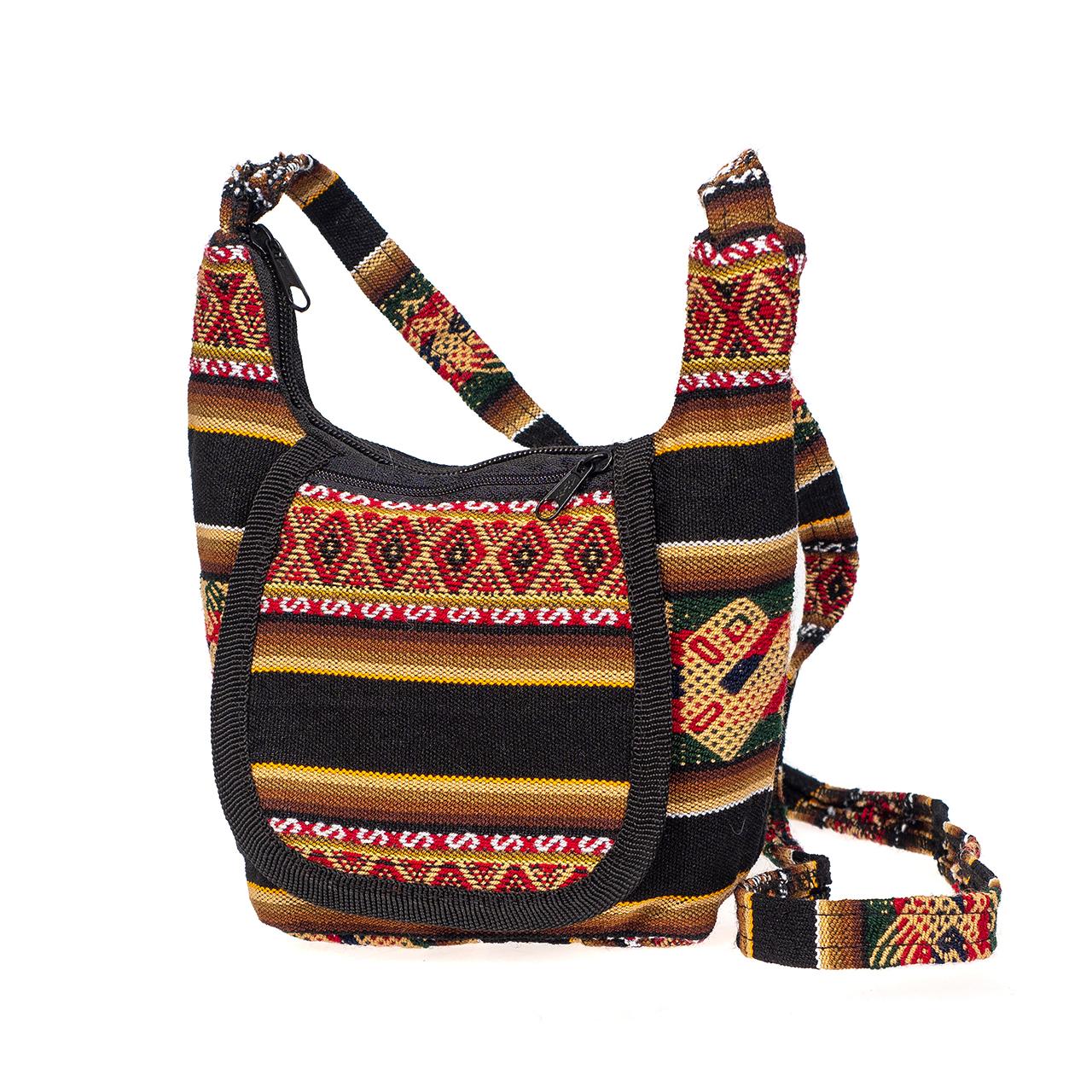 снимка на Дамска чанта малка черна