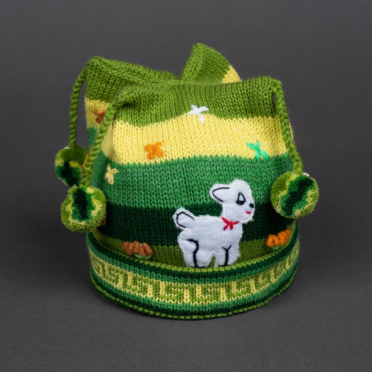 снимка на Детска шапка синя