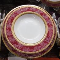 снимка на Комплект чинии за хранене