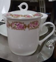 Чаша с капак за чай/кафе