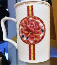 снимка на Чаша  , л. за чай, кафе, мляко с капак