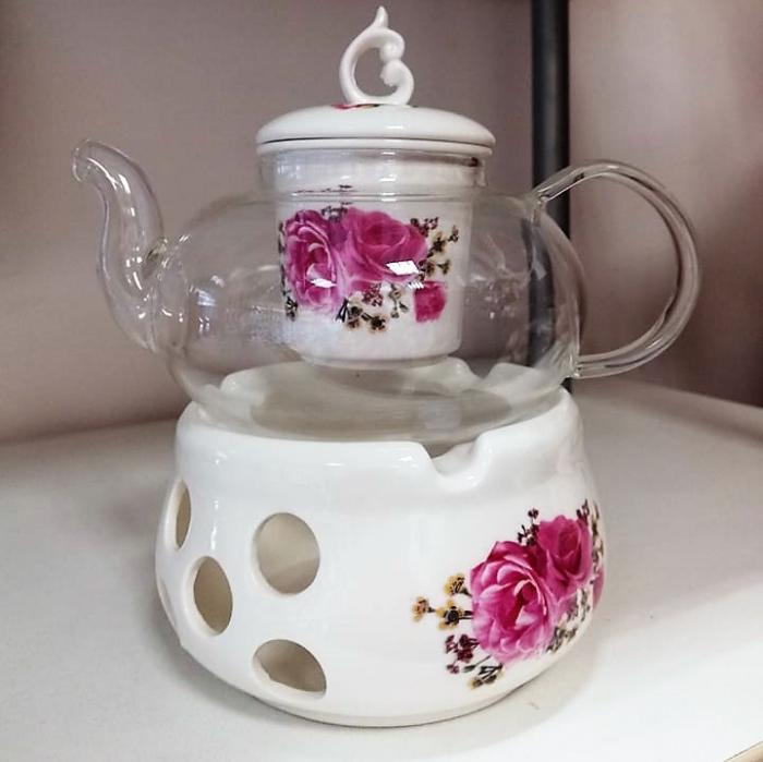 Чайник от йенско стъкло