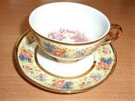 Комплект чаши от фин костен порцелан