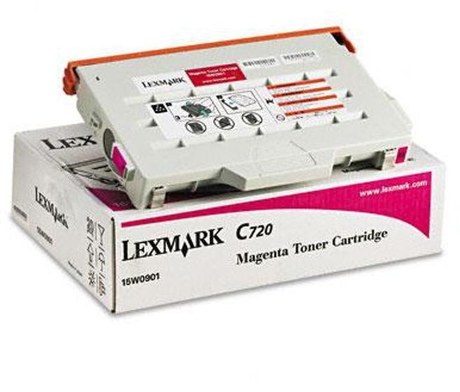 снимка на Тонер касета Lexmark W Magenta