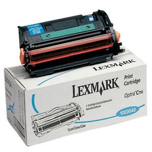 Тонер касета Lexmark 10E0040 Cyan