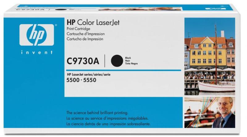 снимка на HP CA тонер касета black