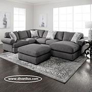 голям диван с гъши пух 305
