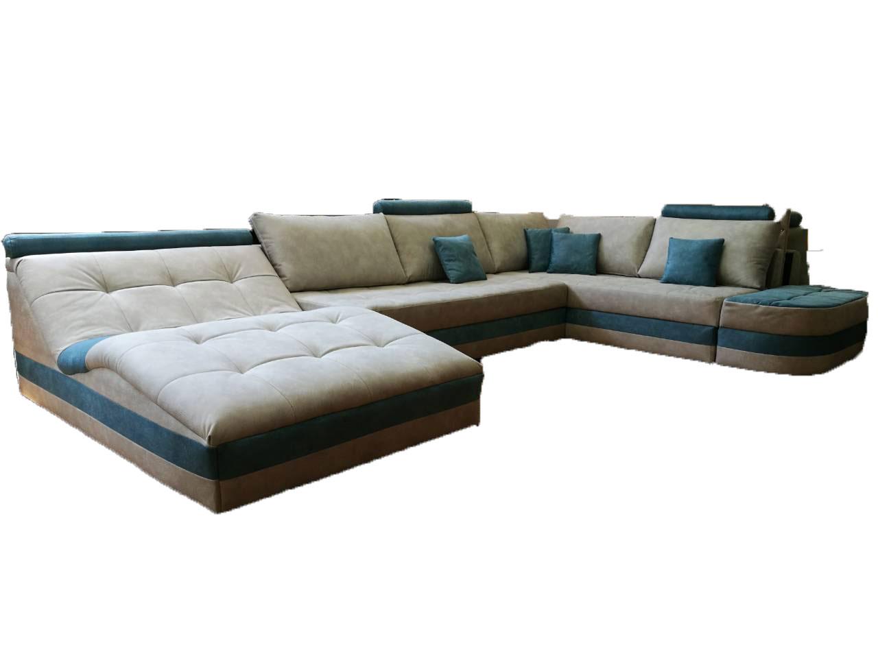 снимка на Луксозен ъглов диван по поръчка