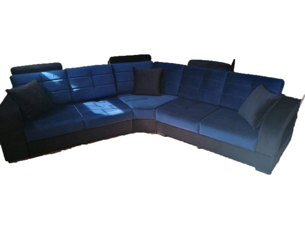 снимка на Луксозен диван в два цвята по поръчка