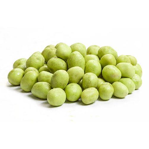 снимка на Бирен фъстък с уасаби(зелен)
