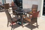 снимка на Ратанова мебелировка с перфектно качество за тераса