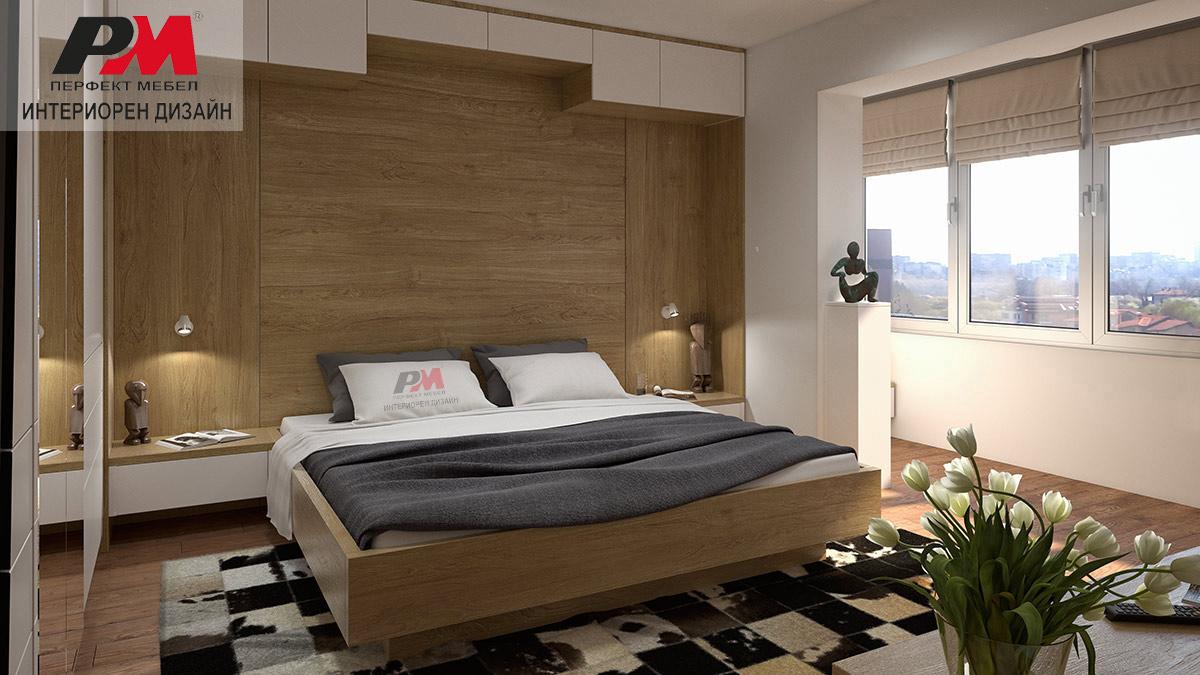 снимка на Изискан интериорен дизайн на модерно градско жилище