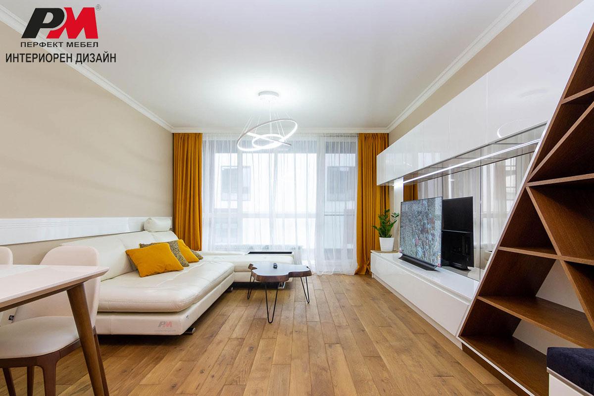 снимка на Изящество, стил и лукс в интериора на съвременното градско жилище