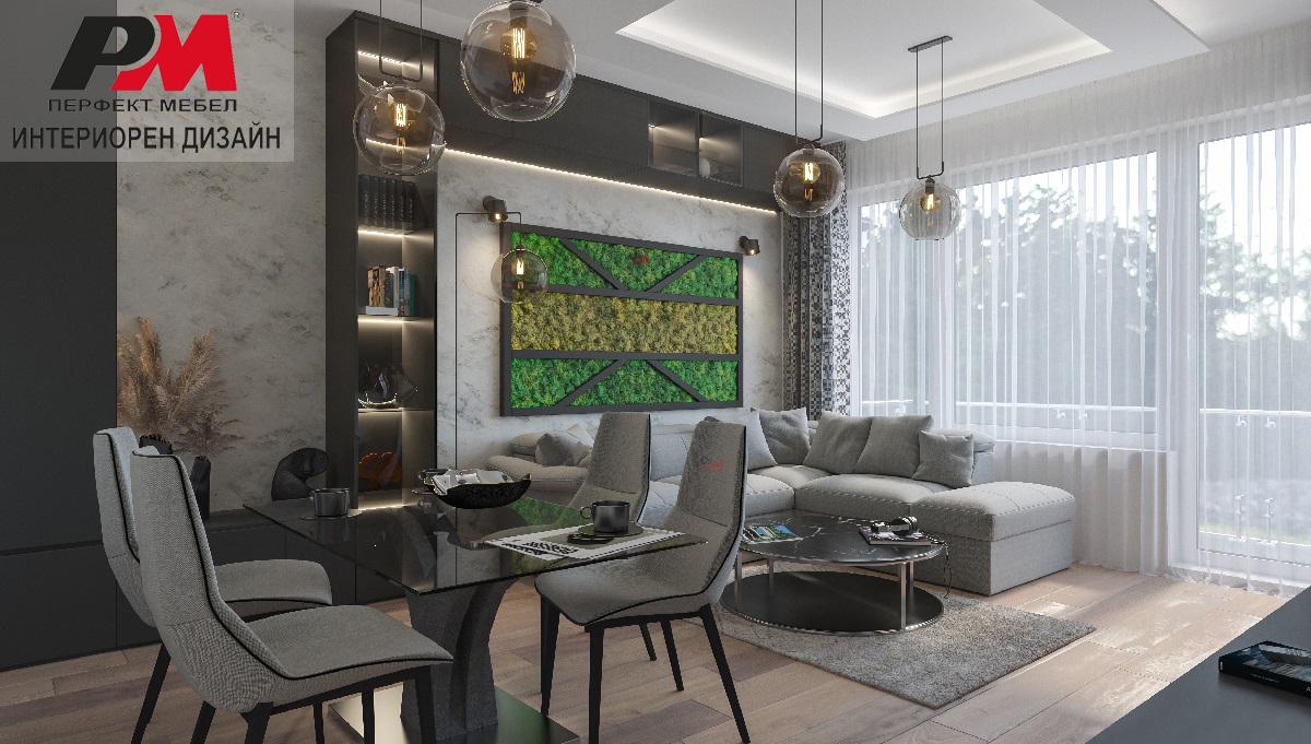 снимка на Итериорен дизайн на жилище с елегантно градско звучене, стил и лукс