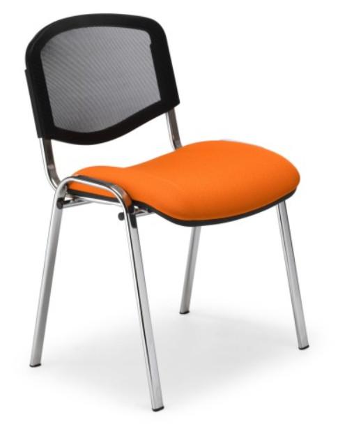 снимка на Посетителски стол ISO ERGO MESH CHROME