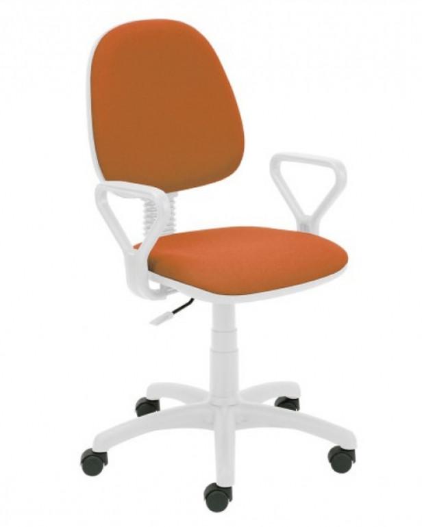 снимка на Работен стол REGAL WHITE