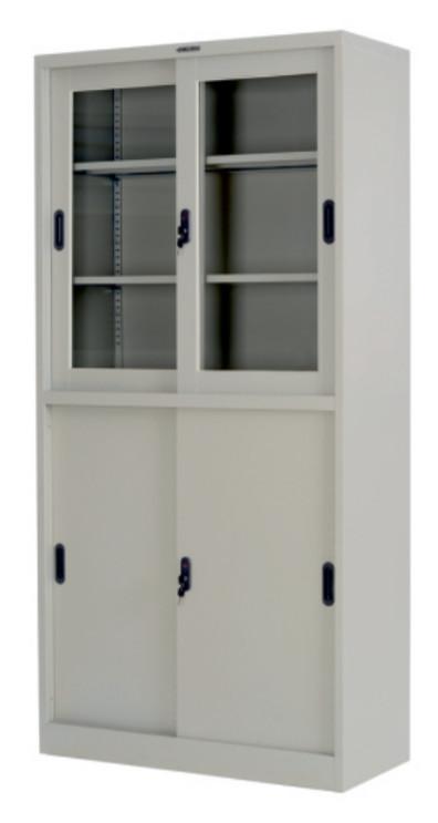 снимка на Медицински шкаф GL плъзгащи врати с / стъклени витрини