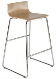 Бар стол TULIPAN hocker chrome