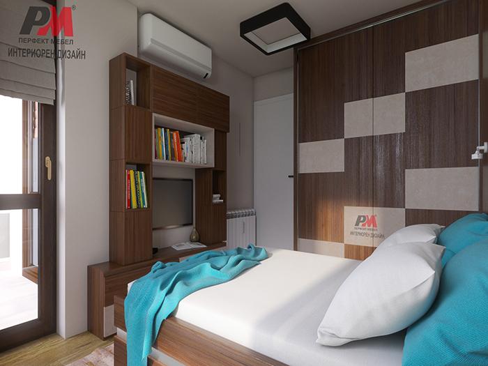 снимка на Семпло и уютно решение на спалня в съвременен стил