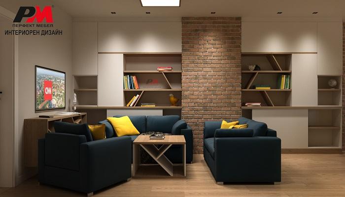 снимка на Уютен апартамент с индивидуален интериорен дизайн