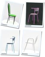 Модерни външни метални столове