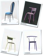 Модерни столове от метал