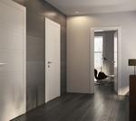 снимка на фрезовани интериорни врати МДФ по проект