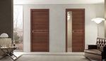 снимка на луксозни плъзгащи интериорни врати със скрито плъзгане