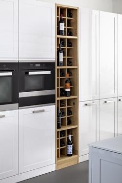 снимка на Кухня мдф бял цвят