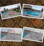 Иноксови стълби за плувен басейн