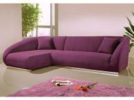 Мека мебел ъгъл във виолетово