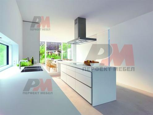 Дизайнерски модерни кухненски мебели луксозна