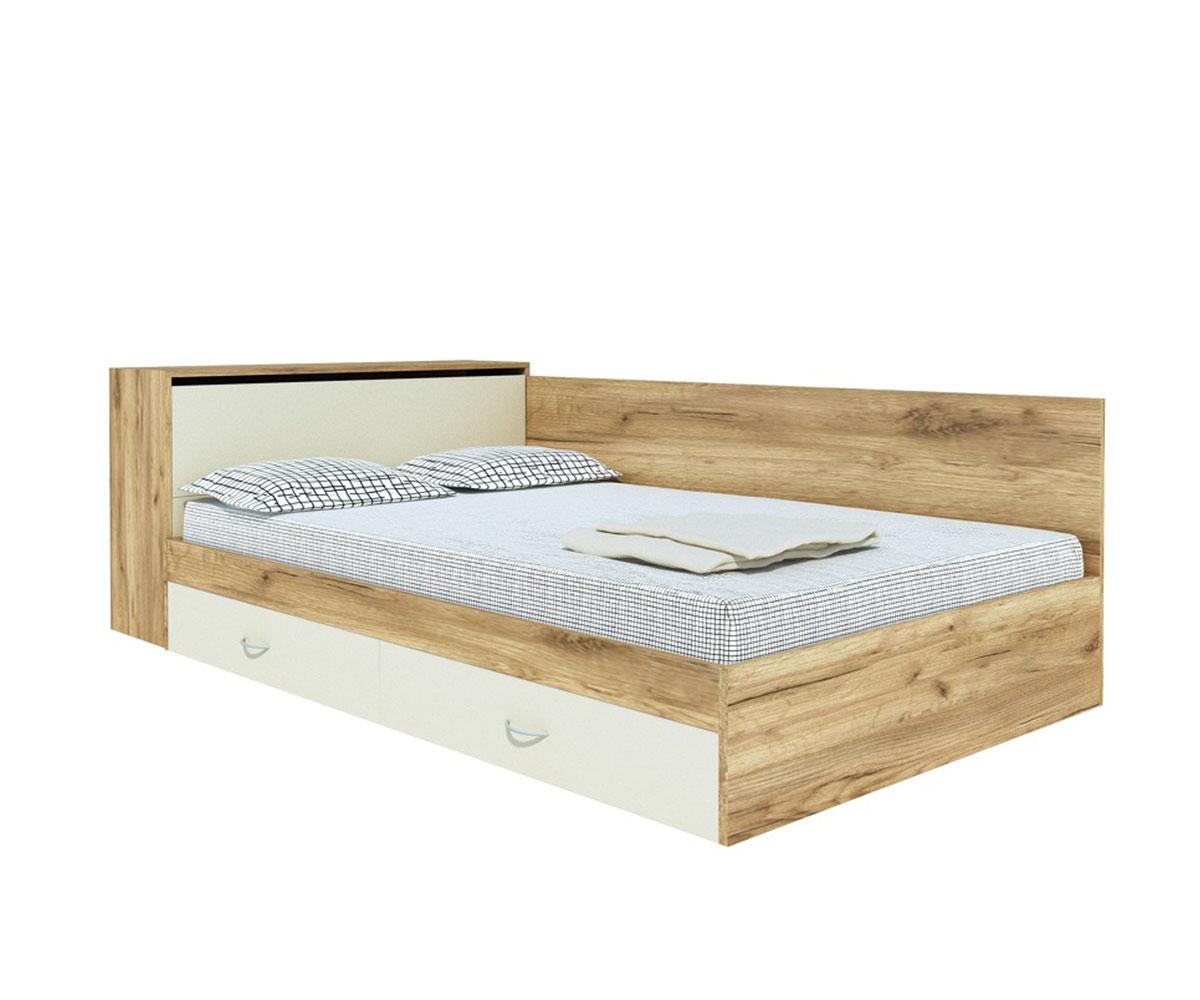 Легло с ракла и чекмеджета №25