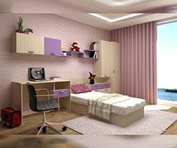 Ъглова детска стая Мамба