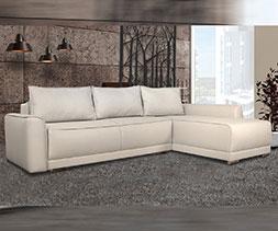 Ъглов диван с две ракли Дъблин