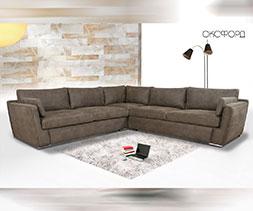 Ъглов диван с падащ гръб Малина