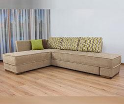 снимка на Ъглов диван с въртящ механизъм Емоция