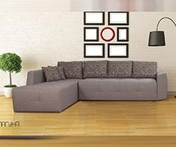 снимка на Ъглов диван с две ракли Лагуна