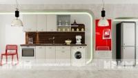 снимка на Права модулна кухня Оптима