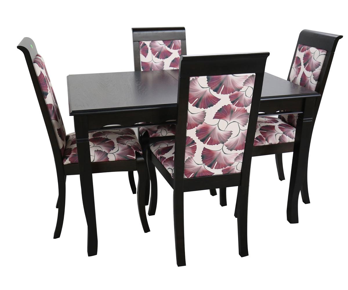 снимка на Комплект трапезна маса със столове  боря  /+/ см.
