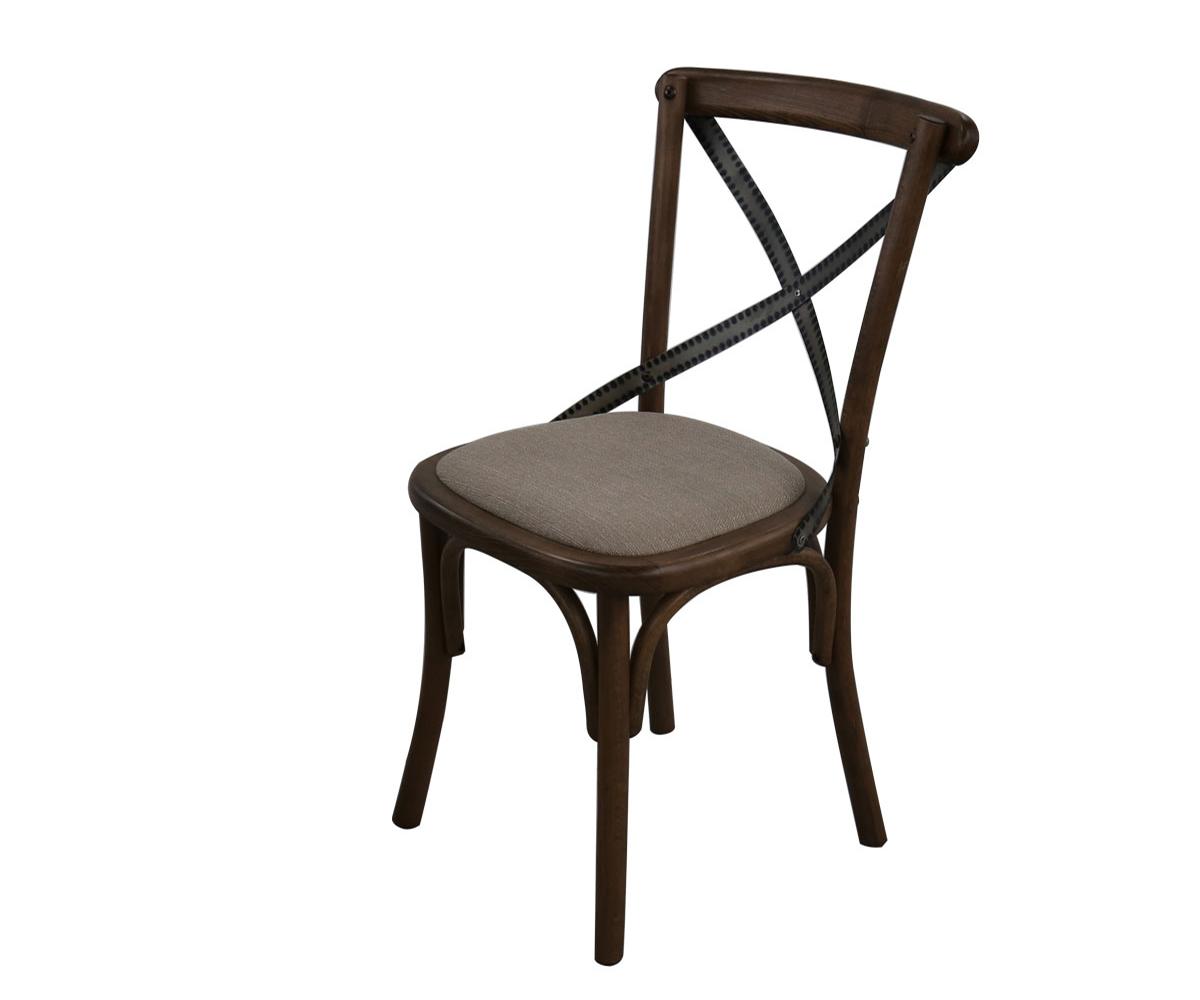 снимка на Трапезен стол с тапицерия Лондон
