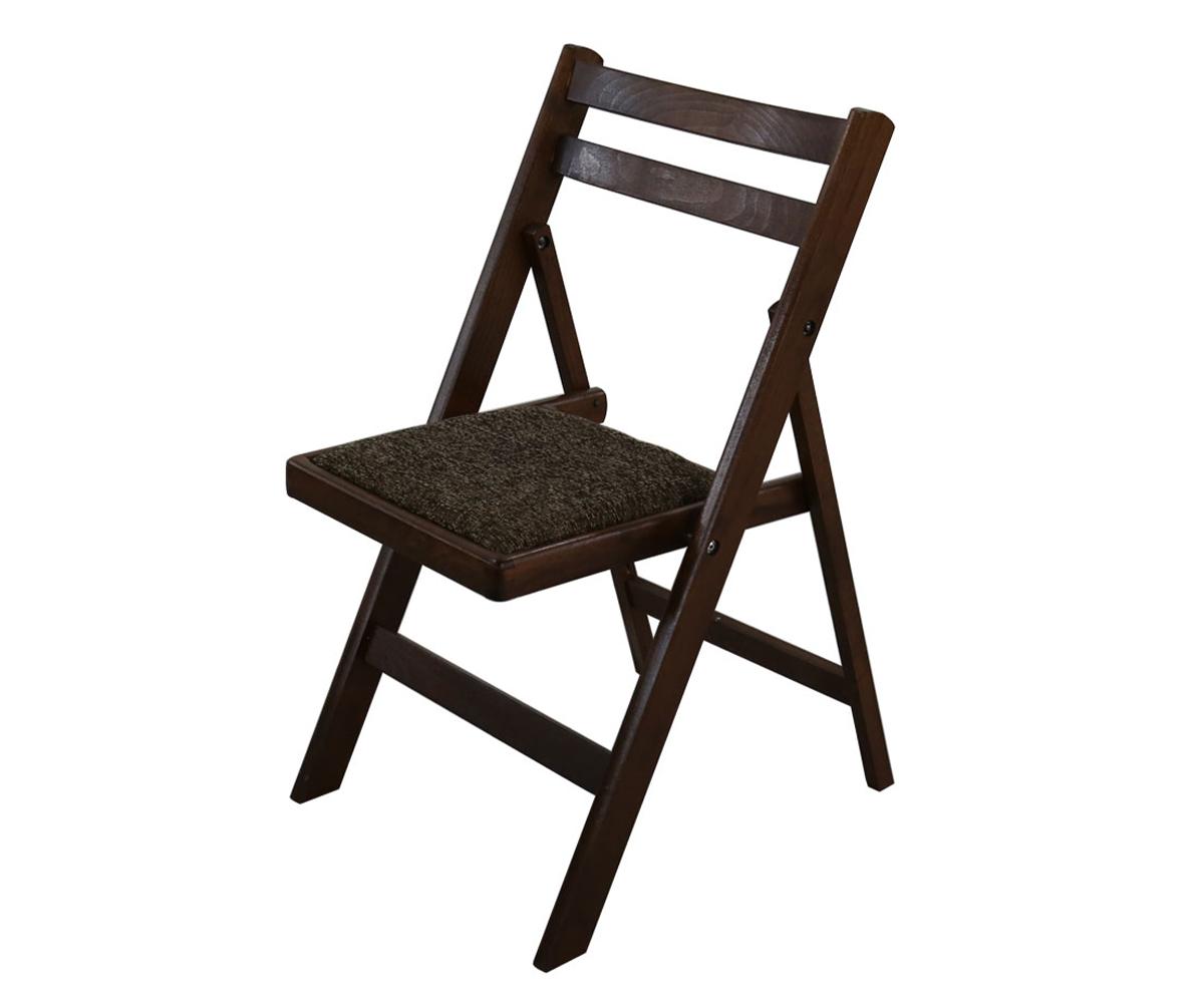 снимка на Трапезен тапициран сгъваем стол