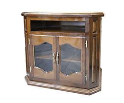 Шкаф за телевизор с витрина Лукс: ш-50 см./д-72 см./в-80 см.
