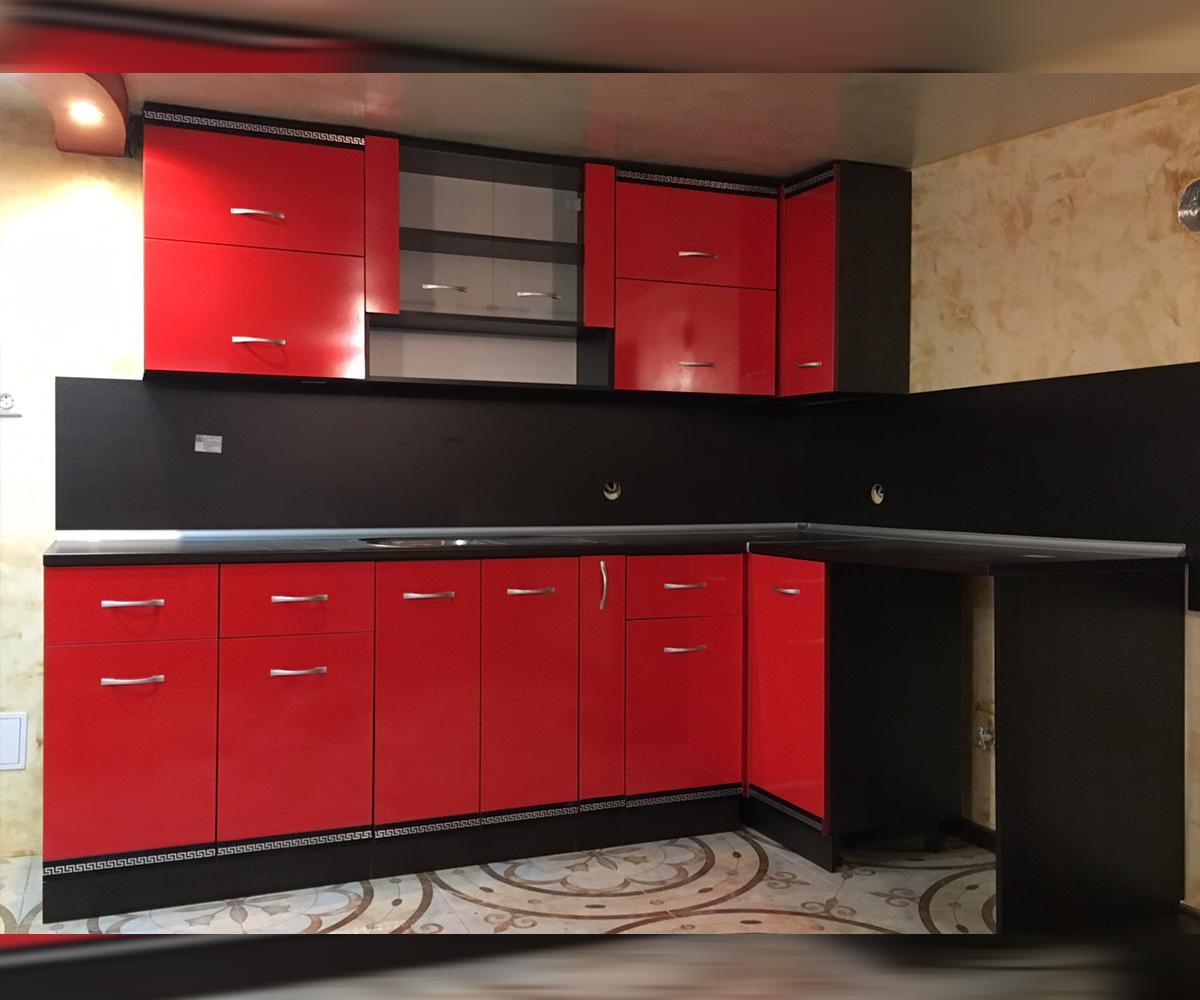 Ъглова кухня по размер