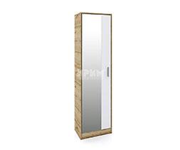 снимка на Еднокрилен гардероб с огледална врата Сити