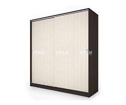 снимка на Двукрилен гардероб с плъзгащи врати Сити