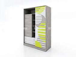 снимка на Еднокрилен гардероб с плъзгаща врата Сити