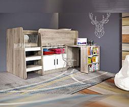 снимка на Детско легло с повдигащ механизъм Сити