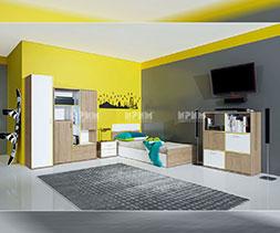 снимка на Модулни мебели за детска стая Сити