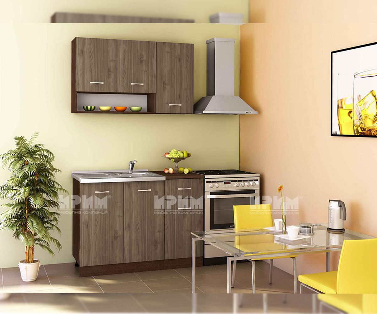 снимка на Модулна кухня с термоплот Сити